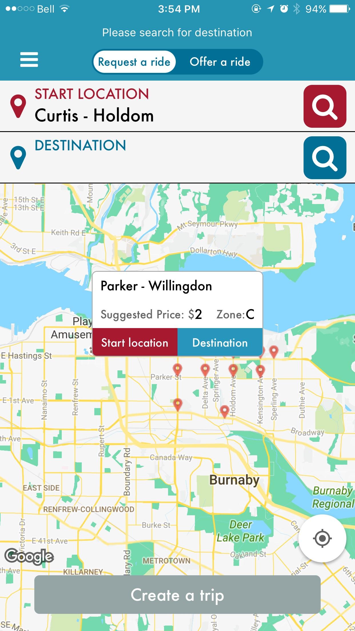 Custom and interactive googlemaps(IOS SDK) infowindow – Kevin He